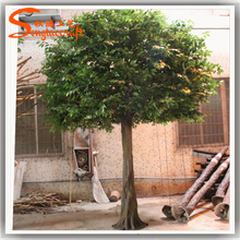 5metesr plastic artificial autumn tree of large artificial decorative banyan tree artificial tree for weddings