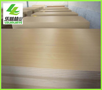 cheap furniture grade E2 texture mdf wood board