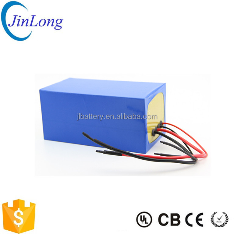 Customized shape lithium ion battery 36v 10ah with BMS