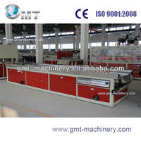 automatic plastic extrusion upvc windows profile machines