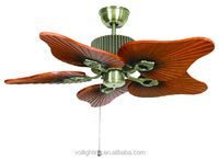 New design decorate ceilign fan lamp model A068