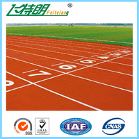 Outdoor Sports Floor Solution Equipment/Cheap Jogging Running Track Material/EPDM granules and PU Binder Wet Pour Machine