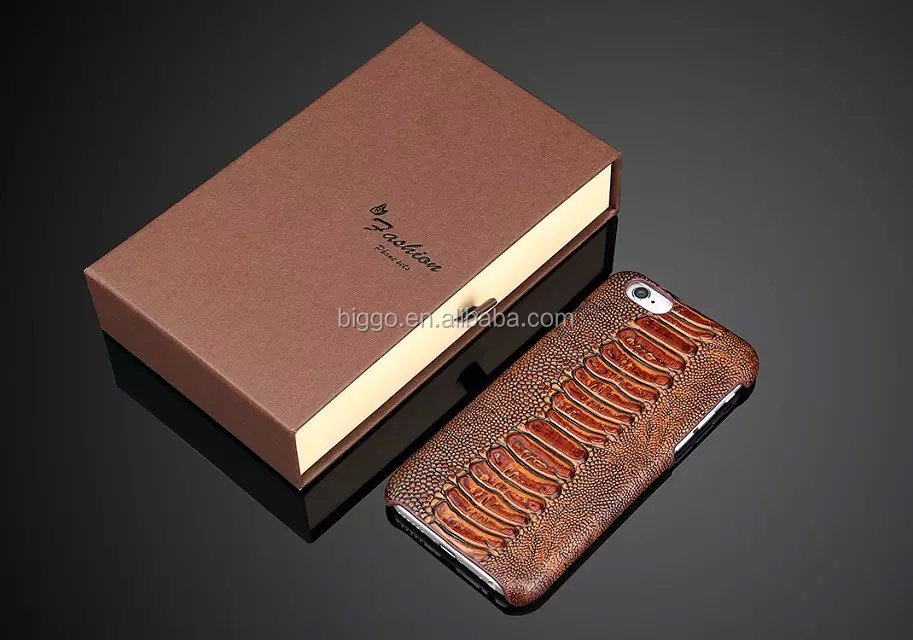 Luxury Crocodile Pattern Real Genuine Leather Phone Cover Case For Iphone 6 6s 6 Plus