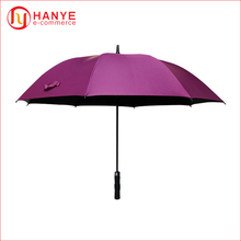 Solid Color Manual Open Double Layer umbrella wind resist