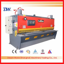 Dream World electrical guillotine shearing machine , cnc guillotine shearing machine , Guillotine Cutting Machine