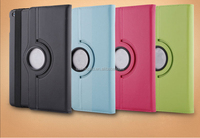 360 Degree Rotating Stand Case With Auto Sleep Feature Leather Case For IPad Case , For Ipad Air Case , For Ipad Mini Case