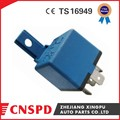 12v 40A 5pin universal auto relay with plastic bracket