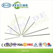orthopedic instruments stainless steel surgical drill bit