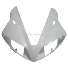 Upper Front Fairing Cowl Nose For Yamaha YZF R1 YZF-R1 YZFR1 2002 2003