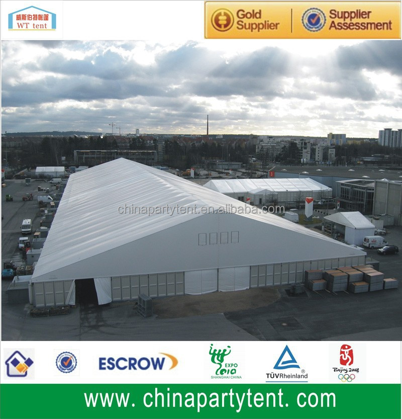 Semi Permanent Large Aluminum Frame Warehouse Tent With