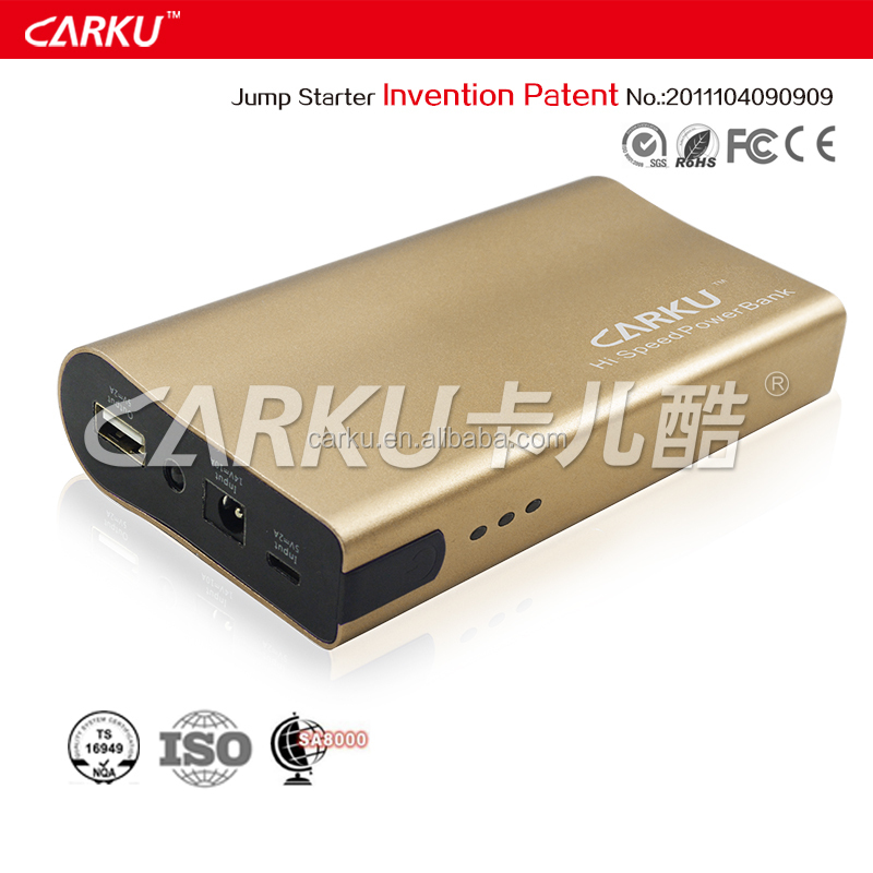 Multi-function 6000mAh mobile power bank with LED light