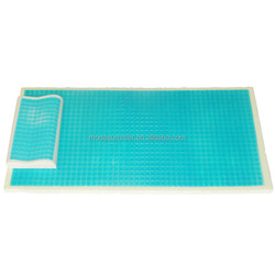 pillow topper used silicon massage cool special design gel pad, cooling mat for bed