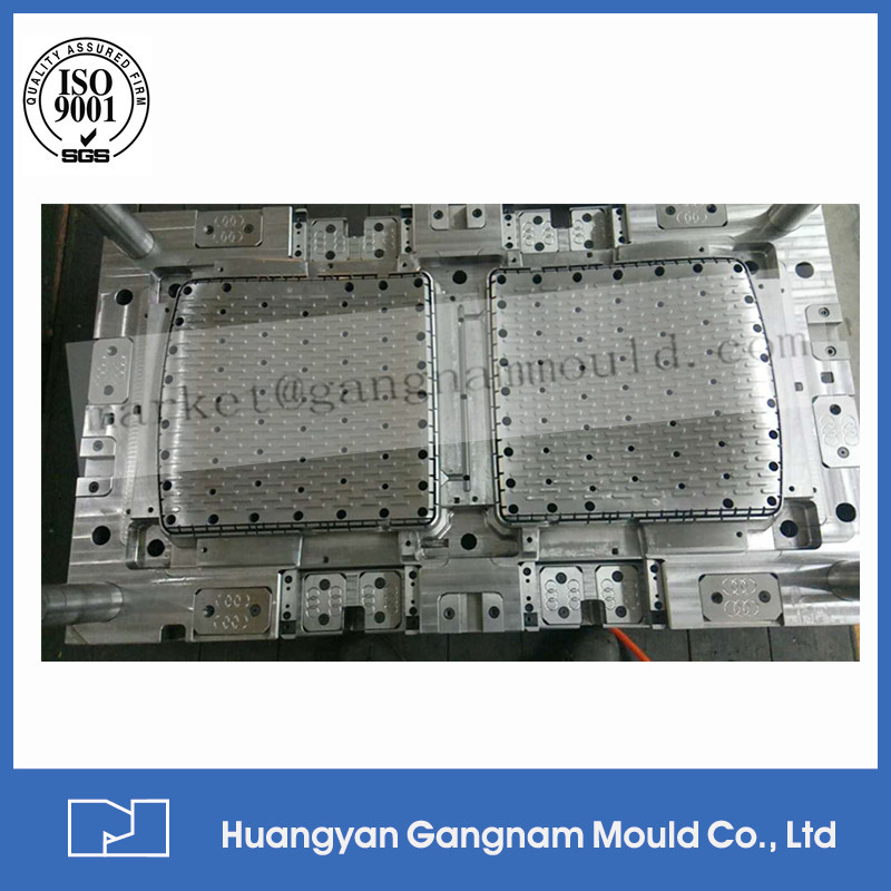 made in China high quality custom plastic injection mould chair with aluminum legs