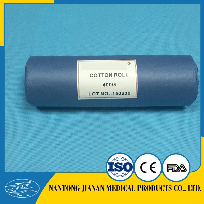surgical absorbent cotton roll/medical cotton wool 500g/cotton products factory with CE,ISO13485