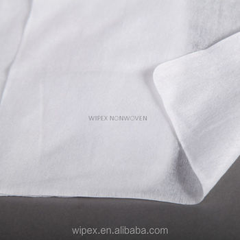 Airline disposable wipers premium quality spunlace nonwoven lint free disposable towels