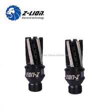CNC Machine Diamond Segmented Drill Finger Core Bits / CNC router bit