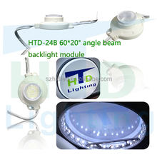 Aluminum better heat dissipation led module lens 12v high power led smd-3030-led led injection module