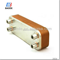 Energy efficient plate heat exchanger car oil cooler for B28 B80