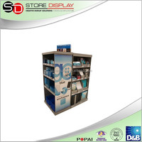 pop up Full Pallet display stand for brand advertising