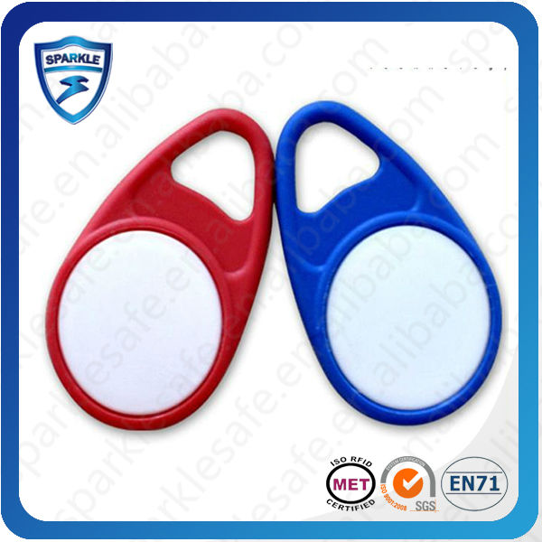 Golden Supplier offer OEM Rfid Plastic ABS Key Fob (with different chip)