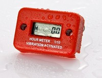 Waterproof Vibrative Hour Meter/Gas Diesel Engine and Electric Motorbike Use Hour Meter
