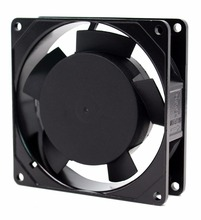 high airflow and low noise 110V/220V AC 92x92x25mm ac fan motor