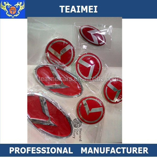 7pcs Full Set Custom Car Logo Refit K5 K3 Car Badges Emblems