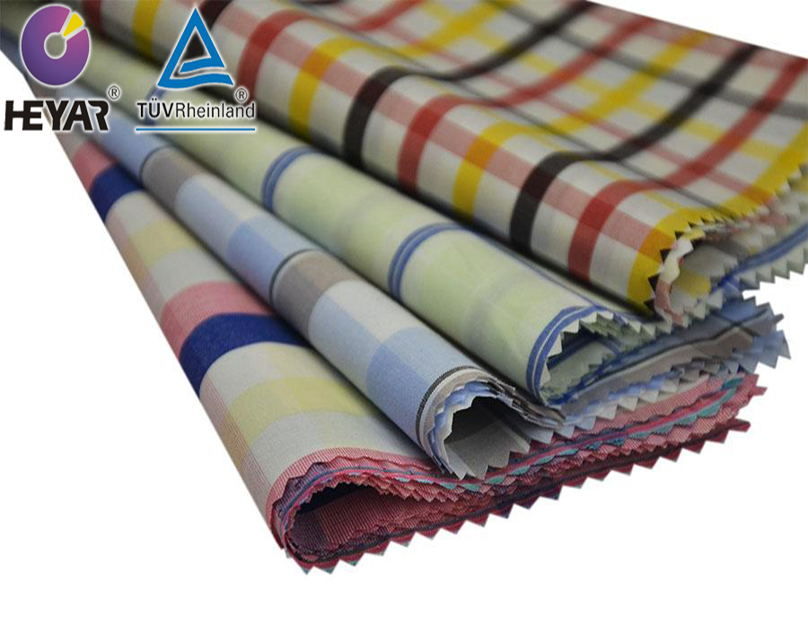 100Cotton Yarn Dyed plaid fabric