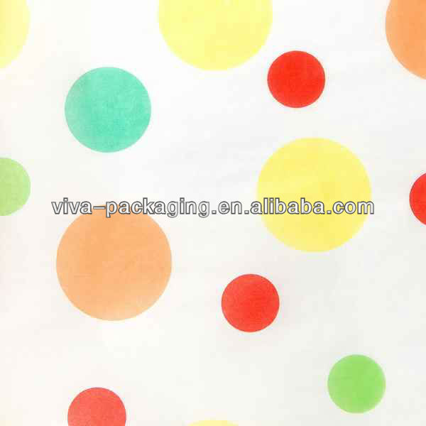 Baby Dots Printed Tissue Paper