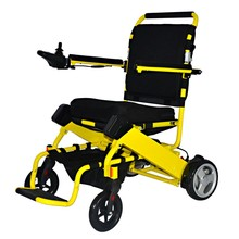 Folding light weight power wheelchair with lithium battery
