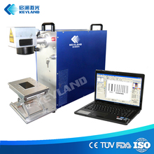 Keyland 20w Fiber Laser Engraving Machine with Conveyor