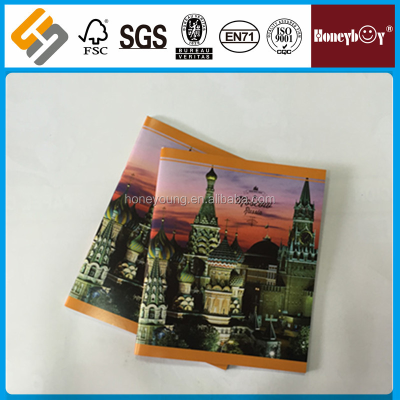 UV lamination shrink wrap custom size book cover material