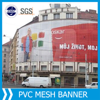 Building Mesh Wrap, make to order supply ad textile printed mesh