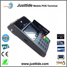 Justtide Magnetic/IC/NFC Card Wired POS, Wireless POS, WiFi POS