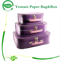 High Quality Popular Suitcase Shaped Box