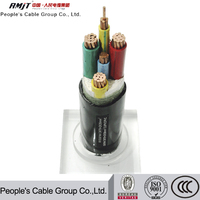 Low Cost High Quality 0.6/1kv 35kv low voltage xlpe insulated power cable cable or electric wires