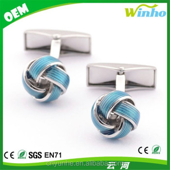 designer Knot Cufflinks for Male