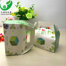 Eco- fridendly Cheap Crdboard Food Packaging Box Custom Paper Box For Cake Box Kraft Paper