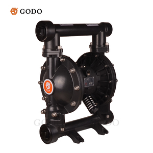 GODO QBY3-50G 2in Displacement Pneumatic Double Diaphragm Wastewater Mud Pump