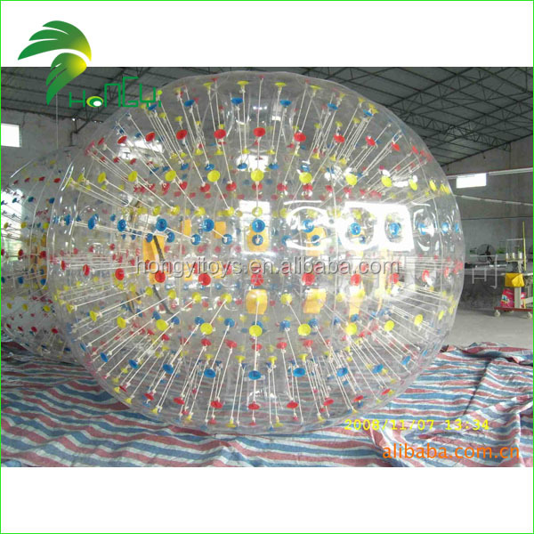 2014 Guangzhou Toy Manufacturing Cheap Land Zorb Ball