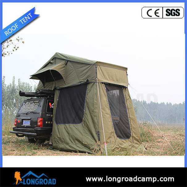 Auto tent design soft top roof rack tent for car