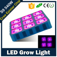 fruit grow led light 180x3 watt 660nm 460nm 612nm