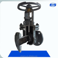 cast iron rising stem gost gate valve pn16 with prices china manufacturer