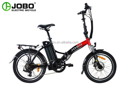 JOBO Price off 2016 New 20inch Super Pocket Bike,Electric Folding Bike/Bicycle