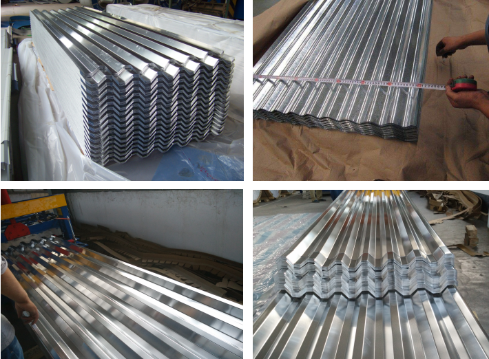 Freight car corrugated aluminum plate Aluminum porch roof