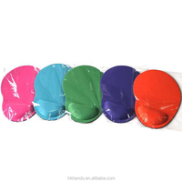 Wholesale single color feet shape eva Wrist rest mouse pad