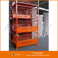 Warehouse Storage Stacking Steel Structure pipe rack