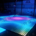 led digital video color change disco led dancing floor stage light