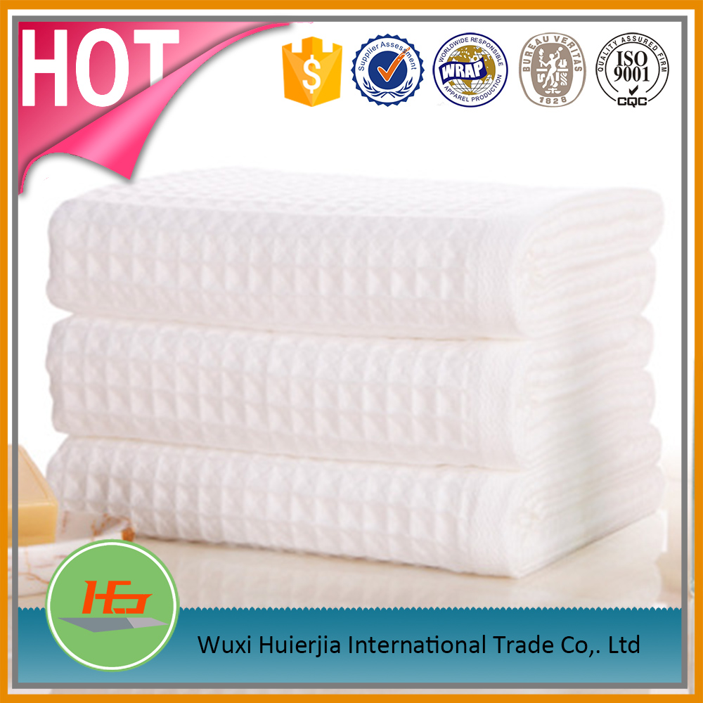 Cotton White Thermal Cotton Waffle Blanket