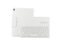 For iPad 9.7 inch (2017), NEW Slim Bluetooth Keyboard+ Leather Stand Case Cover